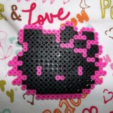 Hello Kitty Black And Pink <3 :)