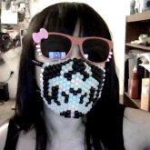 My Biohazard Kandi Mask!!