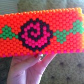 My Mommy's Rose Coin Purse / Clutch :]