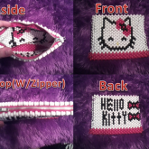 Hello Kitty Pencil Case W/ Zipper