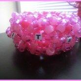 Pink Cage Cuff