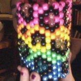 Cheetach Print Rainbow Cuff