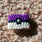 Seedbead Pokeball Ring~