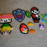 My Perler Bead Creations.