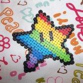 Rainbow Mario Super Star <3 :3