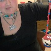 Mario Ball Necklace I Made!