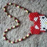 Deadmau5 Hello Kitty Necklace