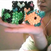 Fishies, Music Notes, And Mini Glow Hearts :D