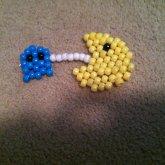 Pac Man Eating Ghost