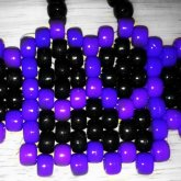 Purple And Black Brass Knuckles