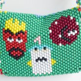 Aqua Teen Purse Back
