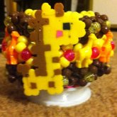 Giraffe 3D Cuff