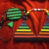 My Kini, Ears, And Mask