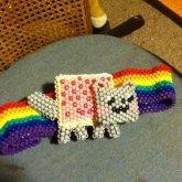 3D Nyan Cat With Belt :D