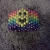 Rainbow Cuff With Smiley