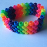 Rainbow Peyote Cuff