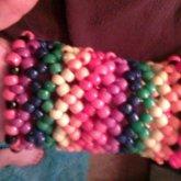 Rainbow Jester Cuff