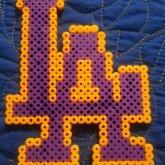 LA Lakers Perler Bead~