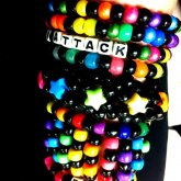 Black And Neon Themed Kandi