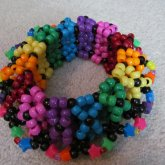 Bewitched Rainbow Cage Cuff 1