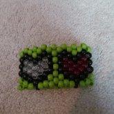 Zelda Heart Container Cuff 2