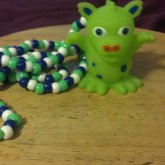 Green Monster Neclace