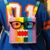 Mini Rainbow Domo Backpack! <3