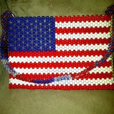 Kandi Purse - USA Flag