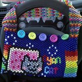 Kandi Purse - Nyan Cat Purse
