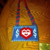 Kandi Purse -money Heart Purse