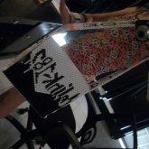(1)MY FINISHED BLINK-182 BAG :D