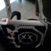 (4)MY FINISHED BLINK-182 BAG :D