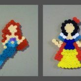 Disney Princess Perler
