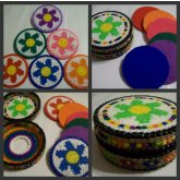 Flower Coasters & Container