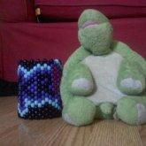 My Stuffed Turtle Lance And Skrillex