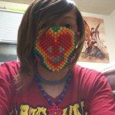 Deadmau5 Rainbow Mask