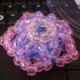 3D Pastel Star Kandi - Kandi Pattern 0017