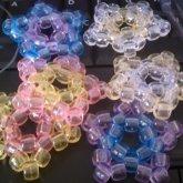 Pastel Stars - Kandi Pattern 0018