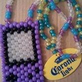 Purple Gameboy & Corona