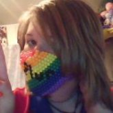 First Mask To Not Fall Apart!! P.L.U.R. <333