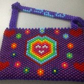 Kandi Happy Rainbow Purse