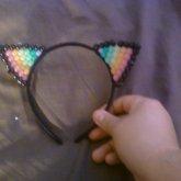 Raver Kitty Ears