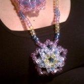 Two 3D Pastel Star Necklace - Kandi Pattern 0020