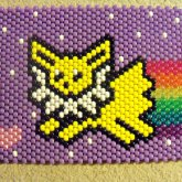 Nyan Jolteon - First Panel To My Newest Backpack.