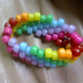 Rainbow Diagonal Cuff