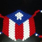 Puerto Rico Kandi Mask