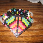 Colorful Disk Cuff For Kandi_Kerunema