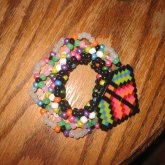 Colorful Disk Cuff For Kandi_Kerunema (Top View)