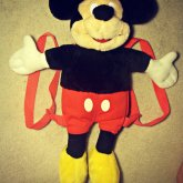 Tradeable Mickey Mouse Backpack