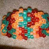 Gummy Color Jewels - Kandi Cuff 0012